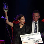 Tone wins Nordjyske Kulturpris 2011 - and is pre-nominated for best album at Nordic Music Prize